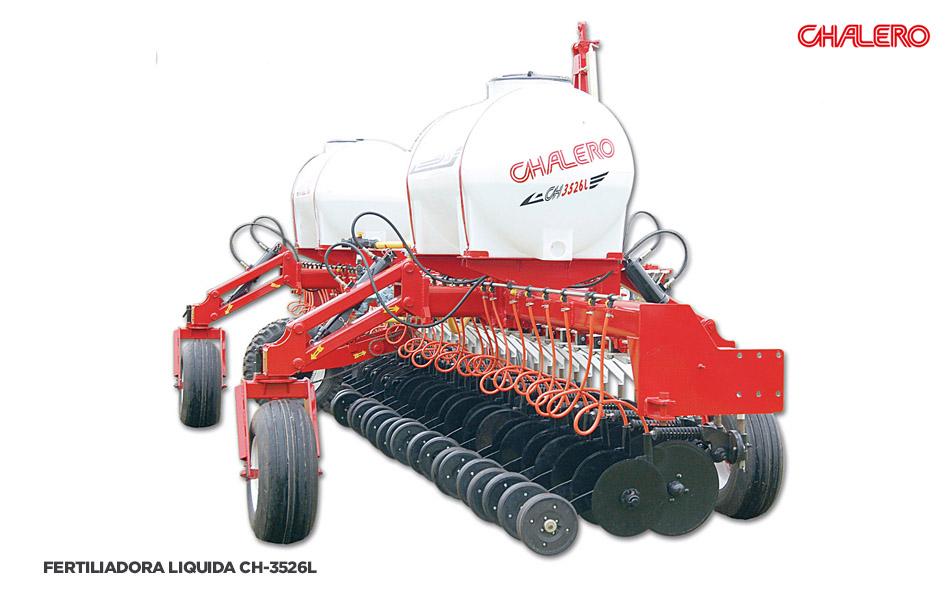fertilizadora liquida chalero