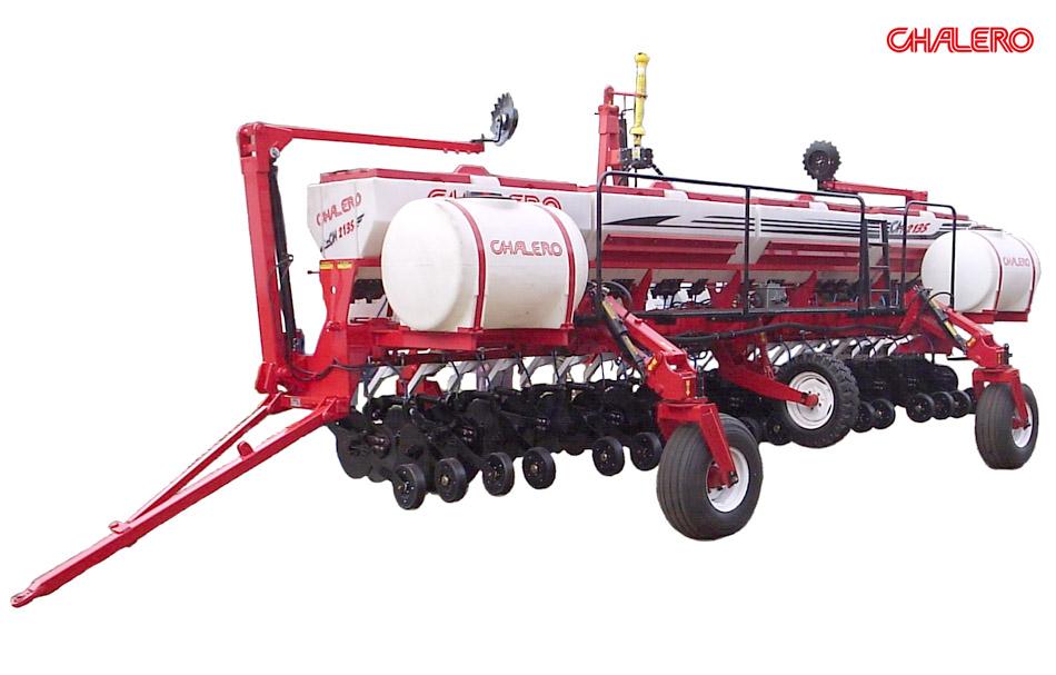 fertilizadora combinada chalero